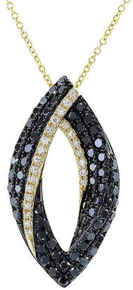 Effy Fine Jewelry Caviar 14K Black Diamond Necklace