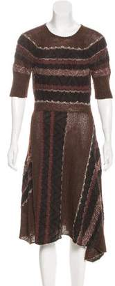 Gary Graham Alpaca Sweater Dress