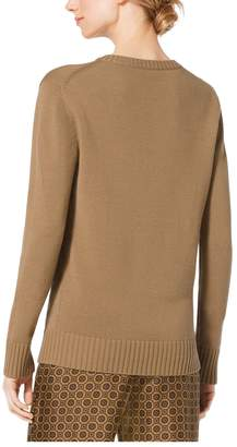 Michael Kors V-Neck Cashmere Sweater