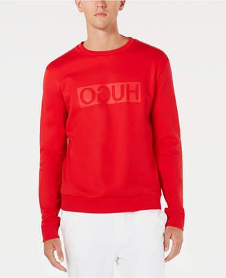 HUGO BOSS HUGO Men's Backward Logo Sweatshirt