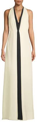 Valentino Silk Floor-Length Dress