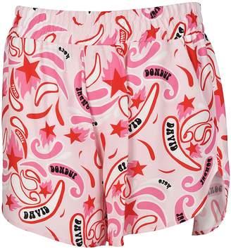 Dondup Paisley Style Print Shorts