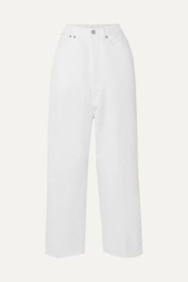 Golden Goose Breezy High-rise Straight-leg Jeans - White