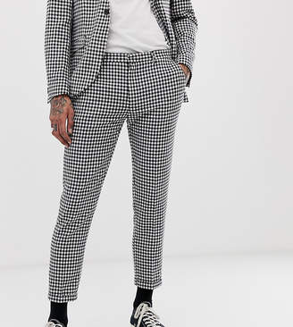 Heart N Dagger skinny fit suit pants in gingham
