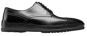 Bally Men's Renoir Reigan Leather Derby Dress Shoes