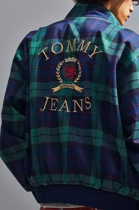 Tommy Jeans Plaid Crest Harrington Jacket