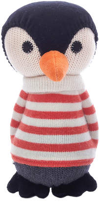 Anne Claire Petit Lars Penguin Toy with Bell - Mandarin