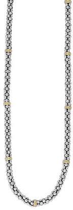 Lagos Caviar-Rope Necklace
