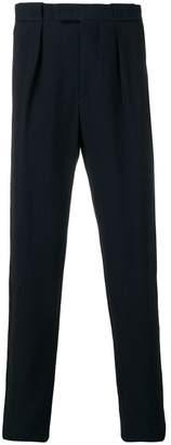Giorgio Armani corduroy straight-leg trousers