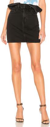 Nobody Denim Ruffle Skirt.