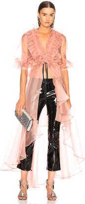 Johanna Ortiz Tamarindo Silk Organza Dress