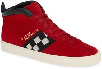Bally Vita Checkered High Top Sneaker