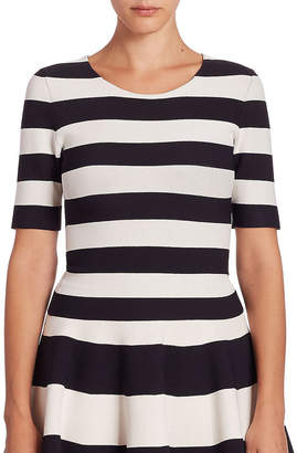 Akris Striped Knit Top