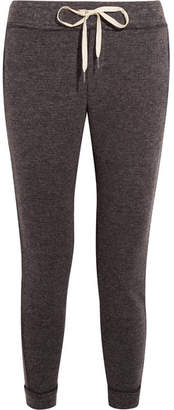Splendid Bowery Textured-knit Track Pants - Anthracite
