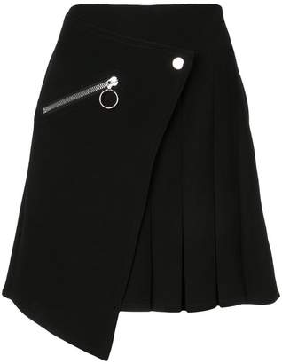 Yigal Azrouel pleated wrap skirt