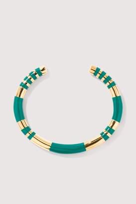 Aurelie Bidermann Positano emerald bracelet