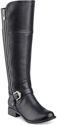 G by GUESS Hailee Wide-Calf Riding Boots $89 thestylecure.com