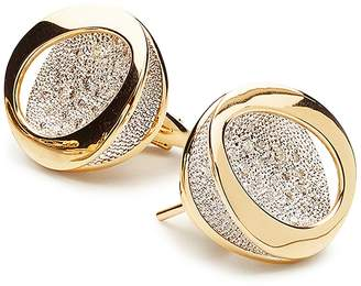 Antonini 18K Yellow Gold Atolli Diamond Stud Earrings