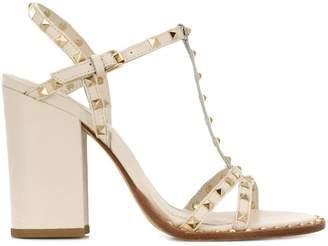Ash studded block heel sandals