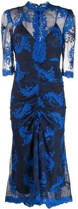 Alice McCall sheer embroidered dress