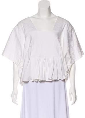 Chloé Oversize Short Sleeve Top