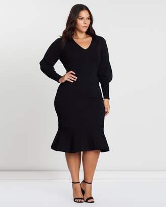 Cooper St CS CURVY Alexandra Fitted Knit Dress