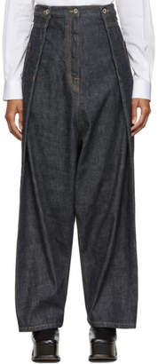 Loewe Blue Oversize Jeans