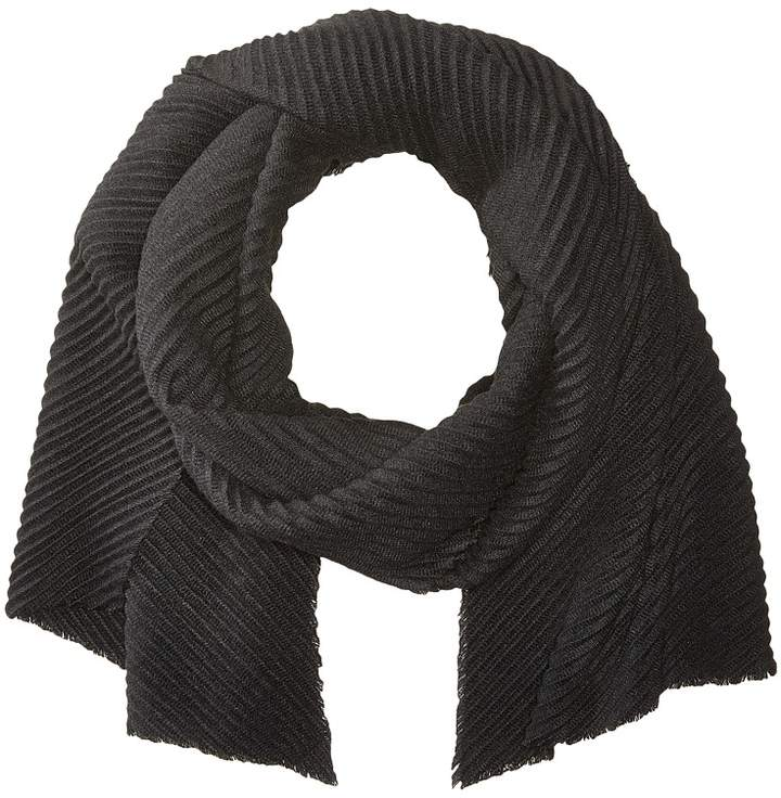 Echo Design - Solid Pleated Muffler Scarves