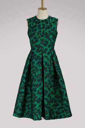 Erdem Indra peony print sleeveless dress