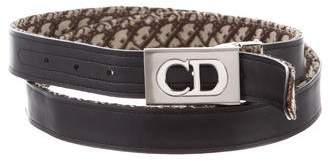 Christian Dior Diorissimo Buckle Belt