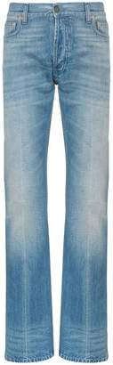 Gucci Web trim embellished straight jeans