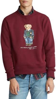 Polo Ralph Lauren Bear Cotton-Blend Fleece Sweatshirt
