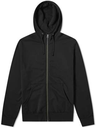 Save Khaki Supima Fleece Zip Hoody