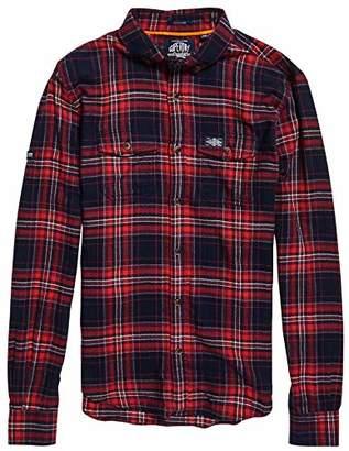 Superdry Men's Winter WASHBASKET Shirt