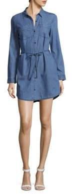 Belted Denim Shirtdress $89.50 thestylecure.com