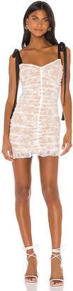 For Love & Lemons Dolly Mini Dress