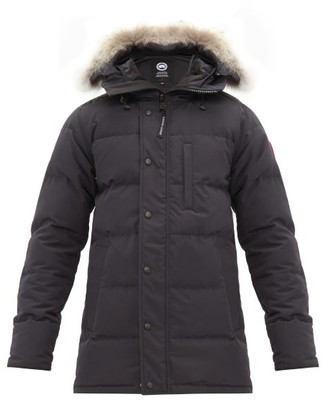 d3b42bee195 Canada Goose Carson Hooded Quilted Down Parka - Mens - Navy