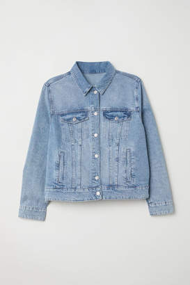 H&M H&M+ Denim Jacket - Blue