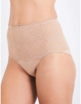 Wacoal Chrystalle lace control briefs