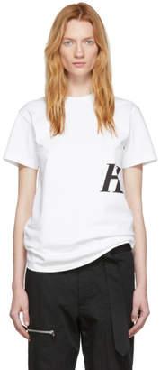 Helmut Lang White Masc Little T-Shirt