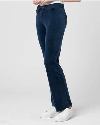 16c9e5c272b4 Juicy Couture Ultra Luxe Velour Del Rey Pant