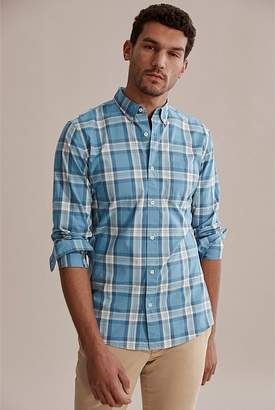Country Road Slim Railroad Check Shirt