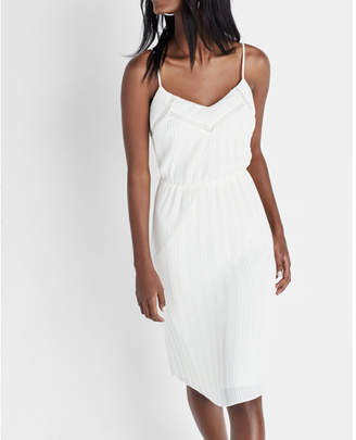 Express pleated cami dress $88 thestylecure.com