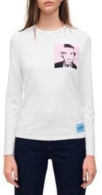 Calvin Klein Jeans Warhol Portrait Cotton Jersey Tee