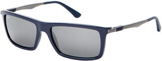 Ray-Ban RB4214 Blue Rectangle Sunglasses