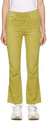 Amo Yellow Bella Corduroy Jeans