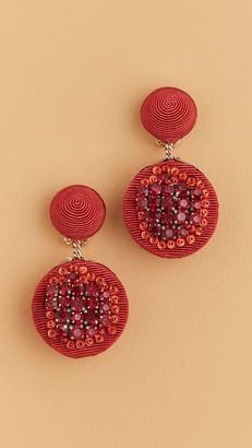 Rebecca De Ravenel Pomegranate Earrings