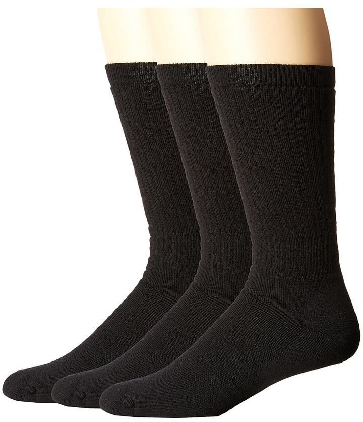 Smartwool - Heavy Heathered Rib 3-Pack Men's Crew Cut Socks Shoes
