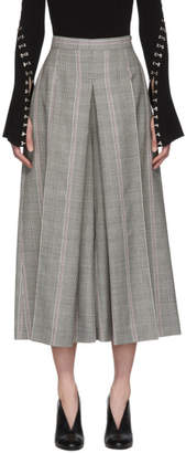 Alexander McQueen Black Prince of Wales Trousers