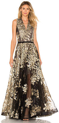 Bronx and Banco Golden Rose Gown